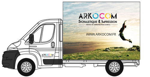MARQUAGE-CAMION-CUBE-SUPER-ARKOCOM