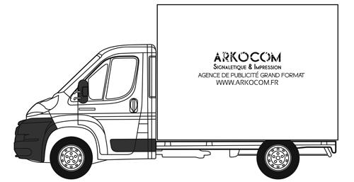 MARQUAGE-CAMION-CUBE-BASIC-ARKOCOM